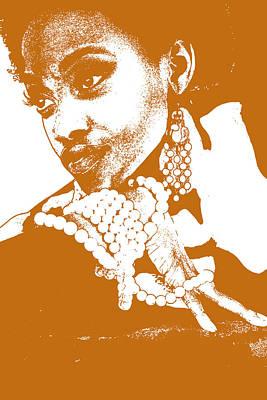 Aisha Brown Poster by Naxart Studio