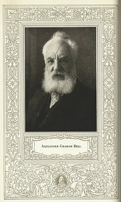 Alexander Graham Bell, British Inventor Poster by Science, Industry & Business Librarynew York Public Library