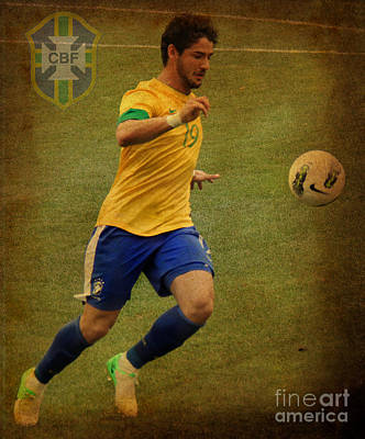 Alexandre Pato Poster by Lee Dos Santos