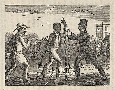 Allegorical Illustration Of A Slave�s Poster by Everett