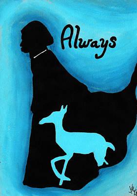 Always Doe In Snape Poster by Jera Sky