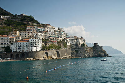 Amalfi Point Poster by Jim Chamberlain