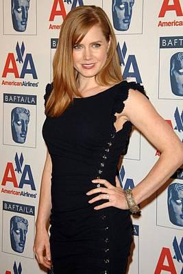Amy Adams Wearing An Azzaro Dress Poster by Everett