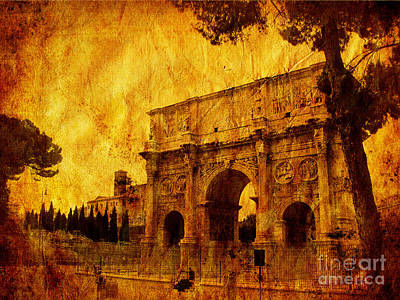 Ancient Rome Poster by Stefano Senise
