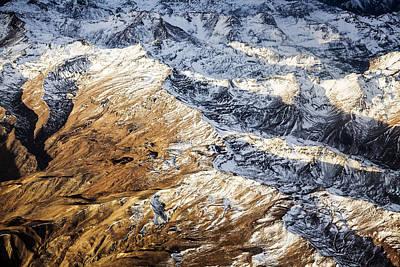 Andes Near Mendoza Argentina Poster by Matt Mawson
