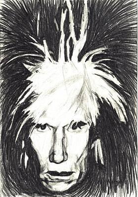 Andy Warhol Poster by Michael Morgan