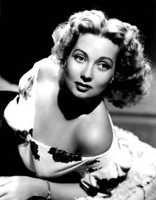 Ann Sothern, Portrait Promoting Poster by Everett