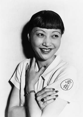 Anna May Wong, Ca. Mid-1930s Poster by Everett