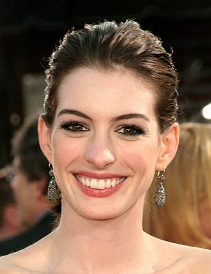 Anne Hathaway At Arrivals For Get Smart Poster by Everett