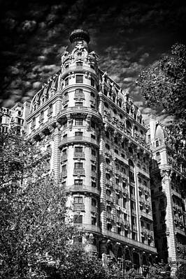 Ansonia Building Detail 32 Poster by Val Black Russian Tourchin