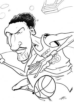 Anthony Davis Poster by Big Mike Roate