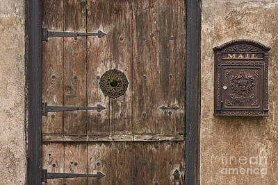Antique Dutch Door And Mailbox Poster by Will & Deni McIntyre
