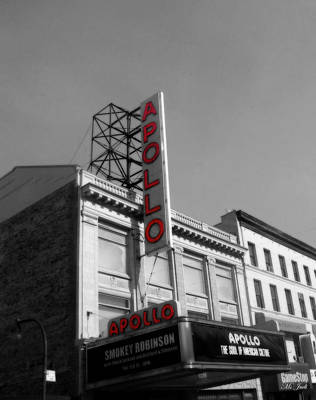 Apollo Theater In Harlem New York No.2 Poster by Ms Judi