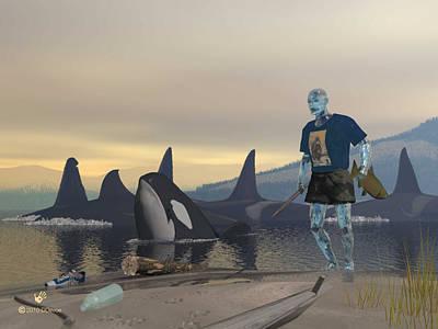 Aquaman Poster by David Devoe