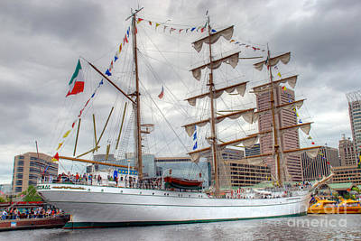 Arm Cuauhtemoc 3 Poster by Mark Dodd