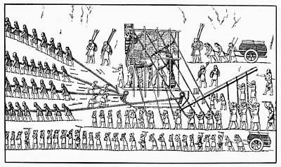 Assyria: Transportation Poster by Granger