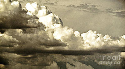 August Monsoon Clouds 5 Poster by Methune Hively