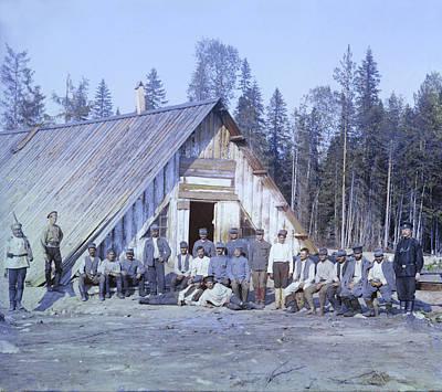 Austrian Prisoners Of War Poster by Everett