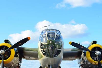 B-25j Killer B Poster by Lynda Dawson-Youngclaus