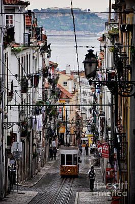 Bairro Alto - Lisbon Poster by Armando Carlos Ferreira Palhau