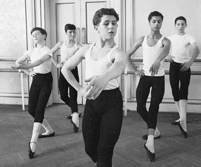 Ballet For Boys Poster by John Drysdale