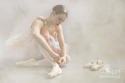 Ballet Slippers D003986-b Poster by Daniel Dempster