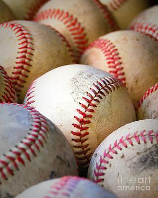 Baseballs - Depth Of Field Poster by Ben Haslam