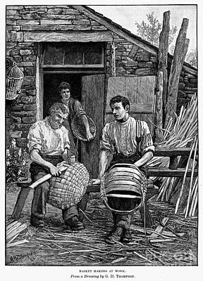 Basket Makers, 1883 Poster by Granger