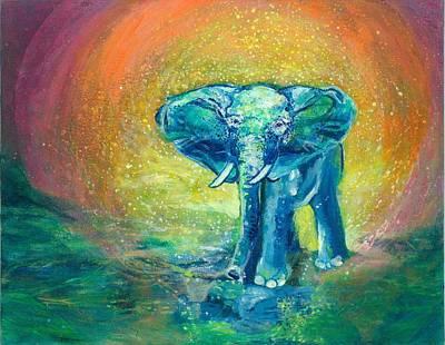 Bathe Me In Thy Light Poster by Ashleigh Dyan Bayer