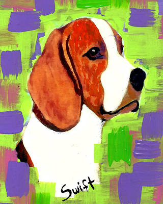 Beagle Poster by Char Swift