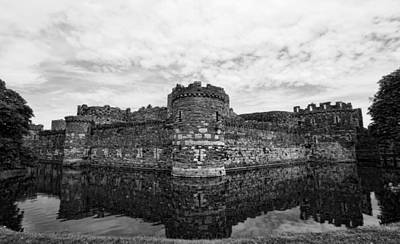 Beaumaris Castle Poster by Julie Williams