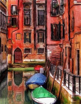 Beautiful Venice Poster by Steve K