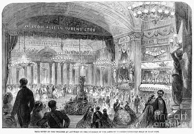 Beaux Arts Ball, 1861 Poster by Granger