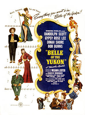 Belle Of The Yukon, Left Top To Bottom Poster by Everett