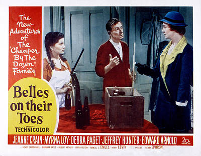 Belles On Their Toes, Lobby Card Poster by Everett