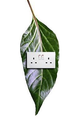 Bioenergy, Conceptual Image Poster by Victor De Schwanberg
