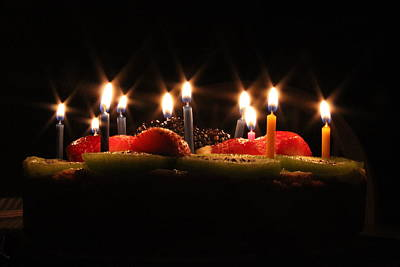 Birthday Lights Poster by Hope Williamson