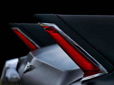 Black Cadillac Poster by Douglas Pittman