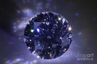 Black Diamond Poster by Atiketta Sangasaeng