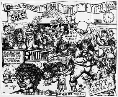 Black Friday Poster by Mack Galixtar