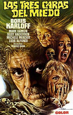 Black Sabbath, Aka Las Tres Caras Del Poster by Everett