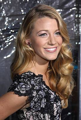 Blake Lively At Arrivals For Where The Poster by Everett