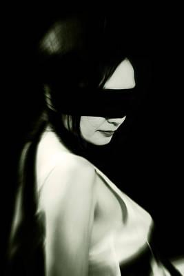 Blindfold Poster by Joana Kruse