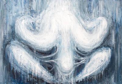 Blue Human Chrysalis Poster by Kazuya Akimoto