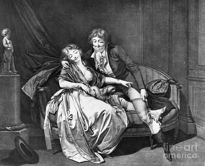 Boilly: Def�nds Moi, C1795 Poster by Granger