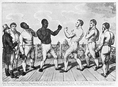 Boxing: Cribb V. Molineaux Poster by Granger