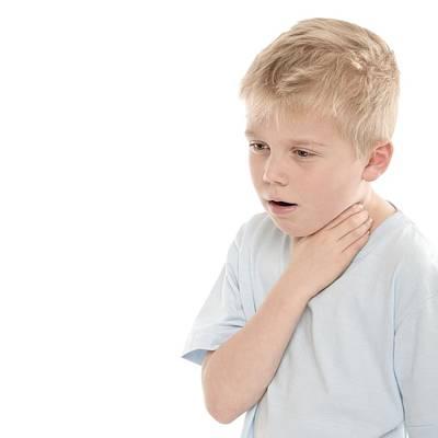 Boy Choking Poster by