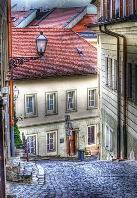 Bratislava. As The City Sleeps Poster by Juli Scalzi