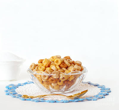 Breakfast Oat Cereal  Poster by Anne Kitzman