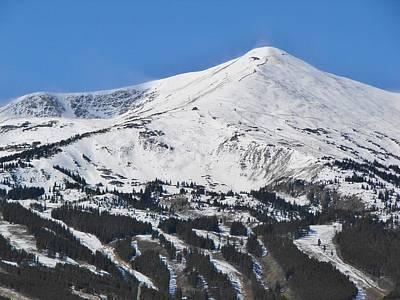 Breckenridge Peak 8 Poster by Margaret Bobb